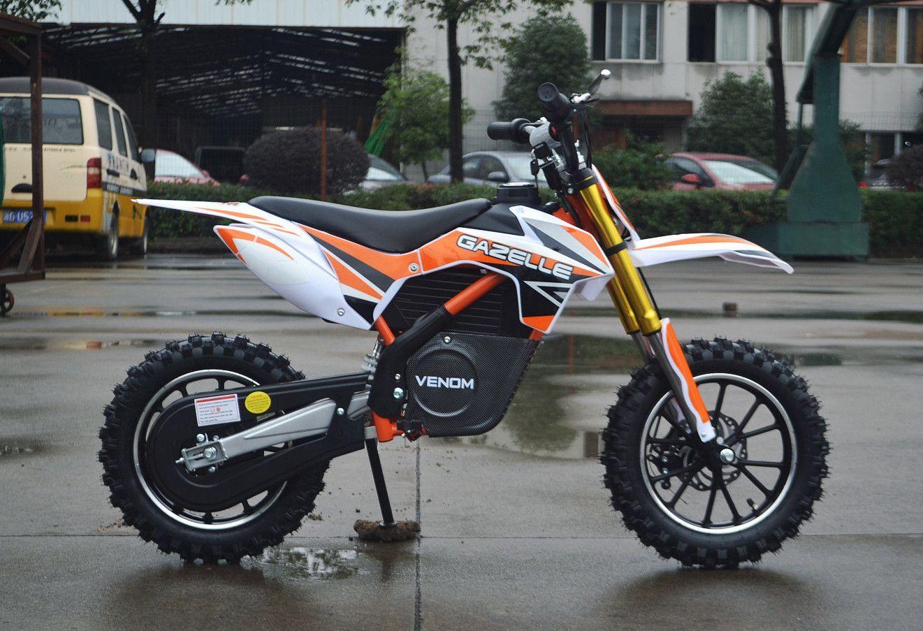 500w Electric Dirt Bike Motocross 24v Electric Dirt Bike Dirt
