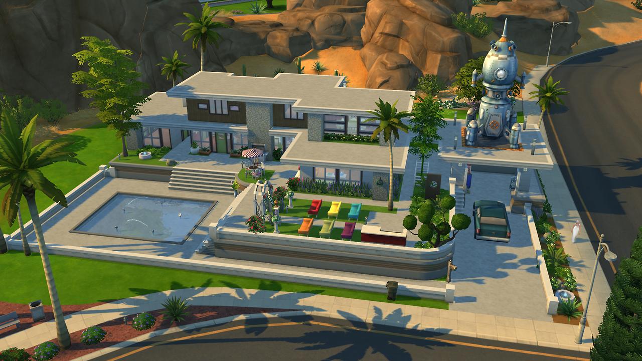 Urban treehouse sims 4 houses - Imagem Relacionada The Simssims 4house