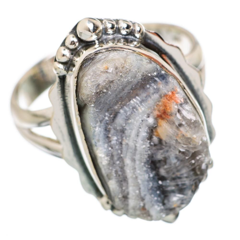 Ana Silver Co Desert Druzy 925 Sterling Silver Ring Size 8.5 RING847825