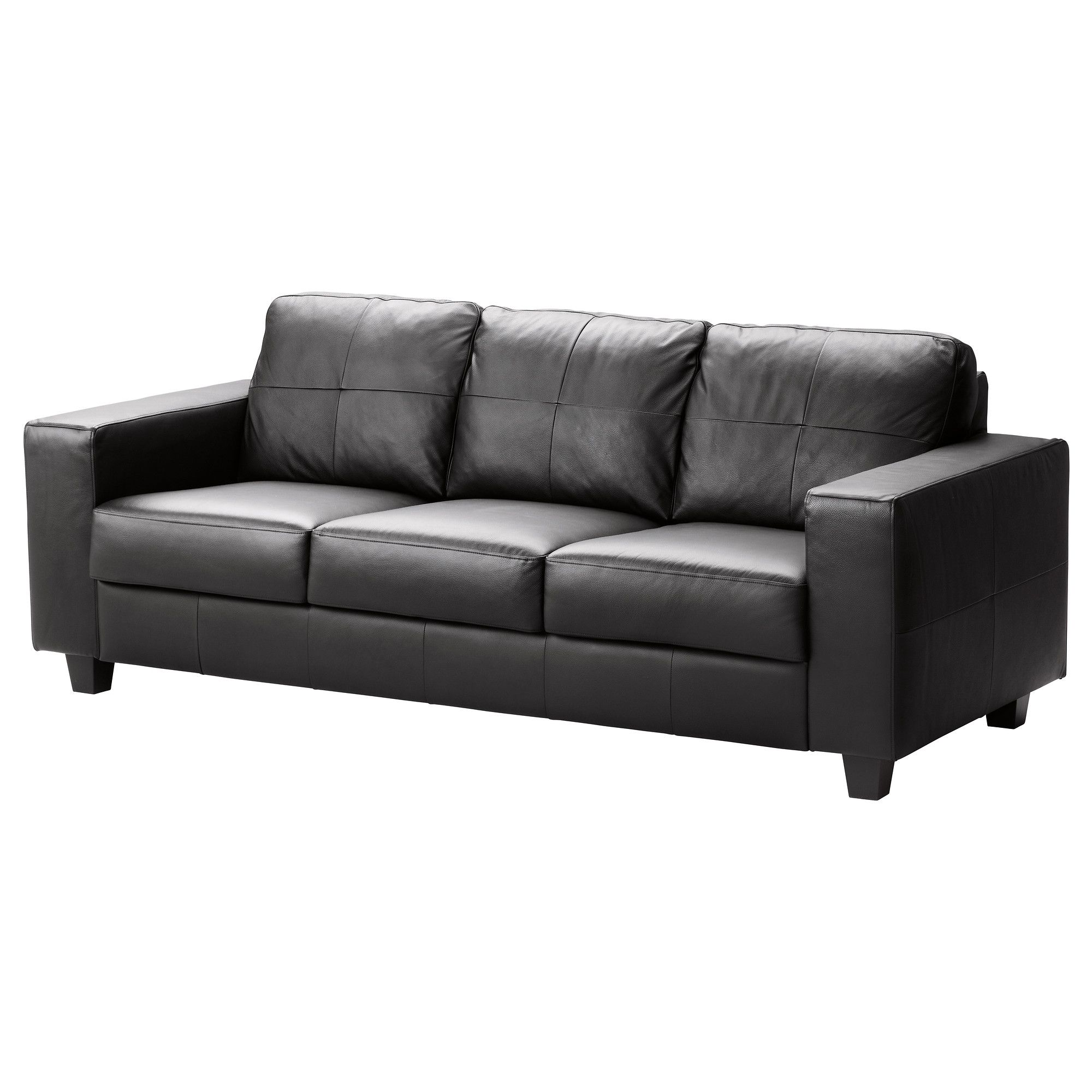 Cool Black Faux Leather Sofa Best 87 For Living Room