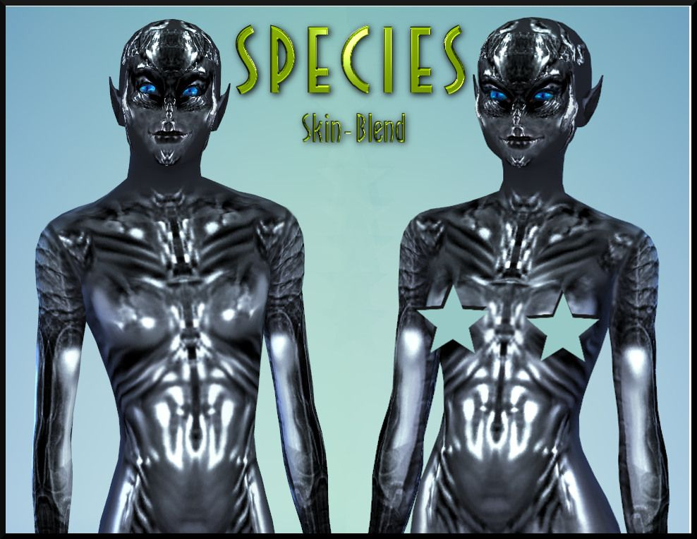 Mod The Sims - New Skin textures for Aliens (inspired by the