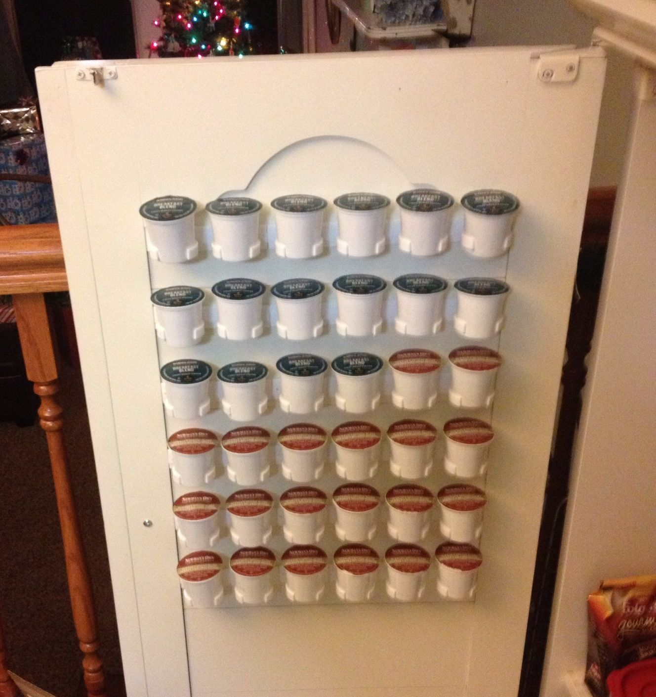 spice rack clips coffee station