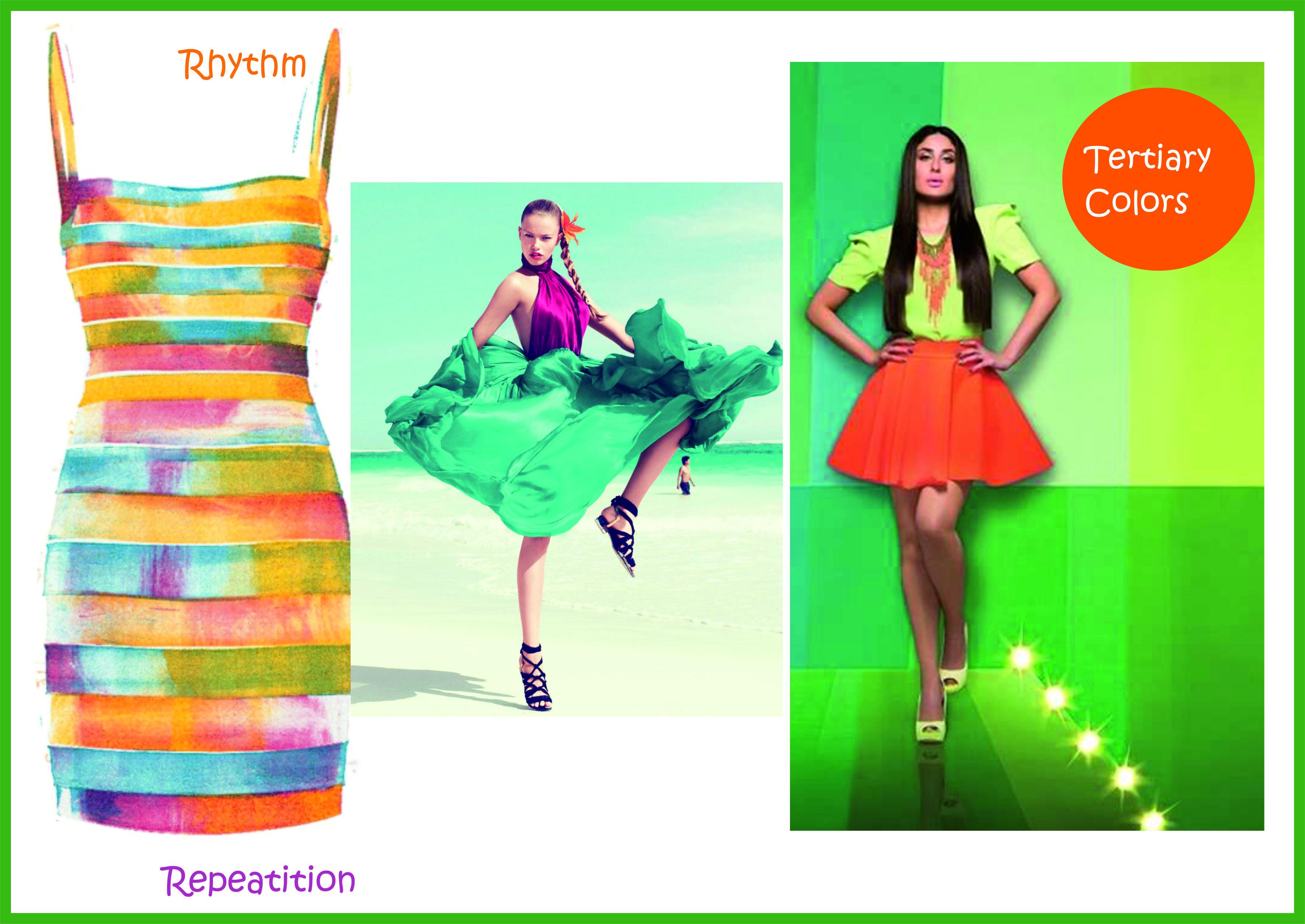 Pin By Tanvi Pinjarkar On Elements Of Design In Fashion Elements Of Design Tertiary Color Color