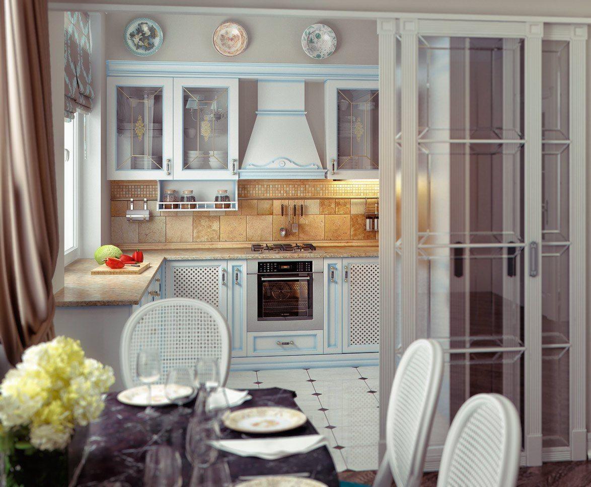 Nice little kitchen   Современный декор кухни, Интерьер ...