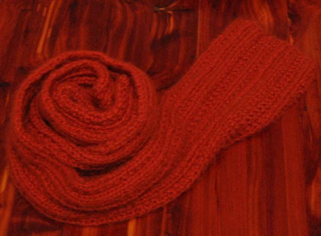 Learn How to Knit a Farrow Rib Scarf