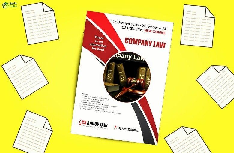 CS Executive (New Syllabus) Book are live at
