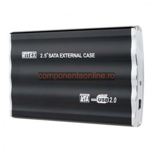 "Rack extern SATA, pentru HDD de 2,5"", USB 3.0, Intex - 401088"