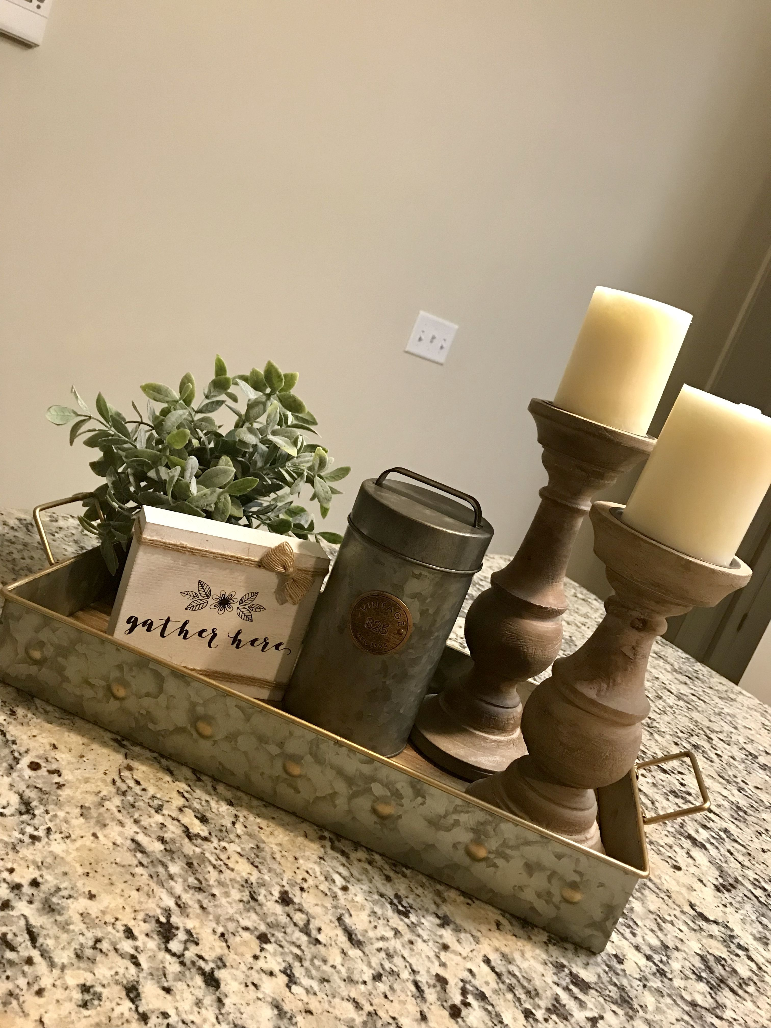 My Kitchen Island Centerpiece For Christmas Christmas Kitchen