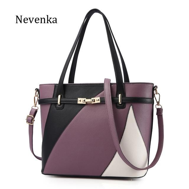 Photo of Nevenka New Design Women Fashion Style Handbag Female Luxury Chains Bags Sequined Zipper Messenger Bag Quality Pu Leather Tote – 5 / China