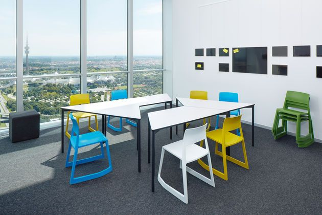 vitra education tip ton chair chairs stack side. Black Bedroom Furniture Sets. Home Design Ideas