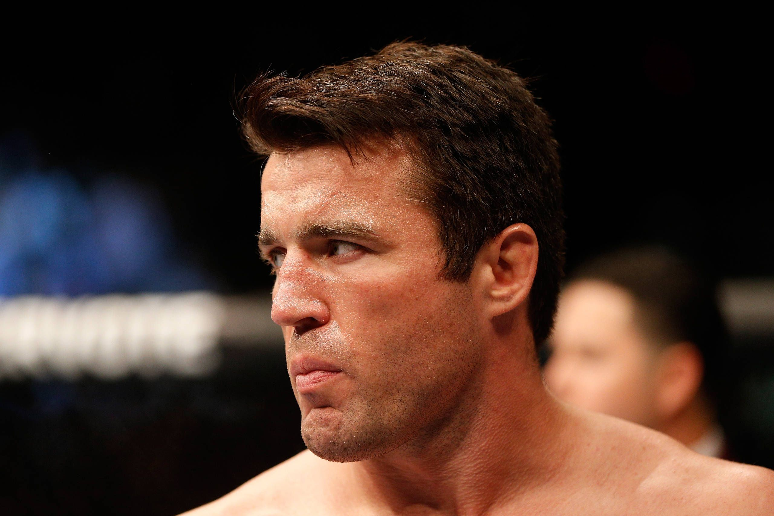 Chael Sonnen fails drug test, pulled from fight at UFC 175