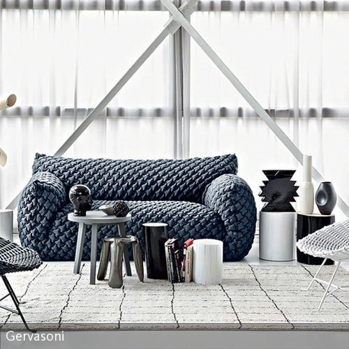 Gemütliches Wohnzimmer in Grautönen House - gemütliches sofa wohnzimmer
