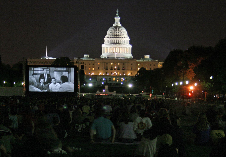 Screen on the Green movie screening, Washington, D.C