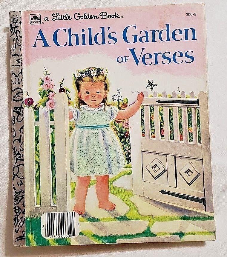 Little Golden Book A Child's Garden of Verses by Robert