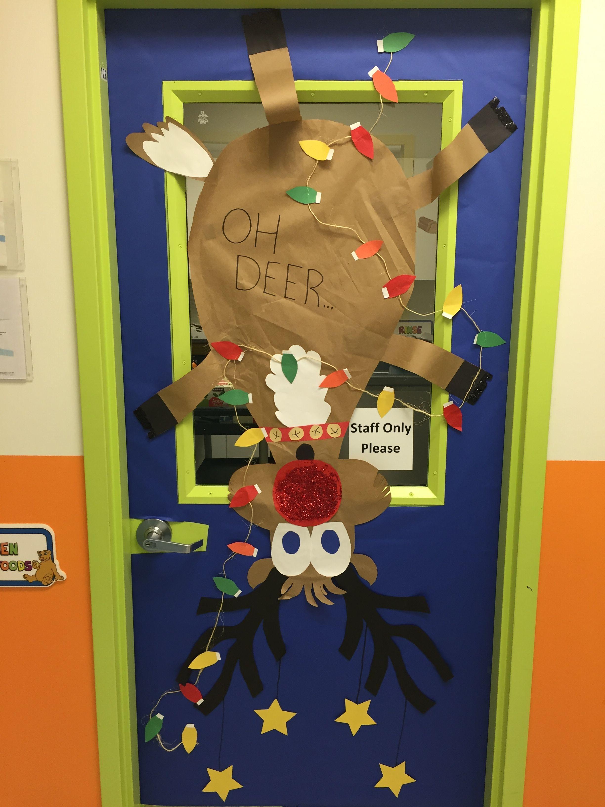 Cute Door Decoration For The Kitchen. | Creative Bulletin Board Ideas |  Pinterest