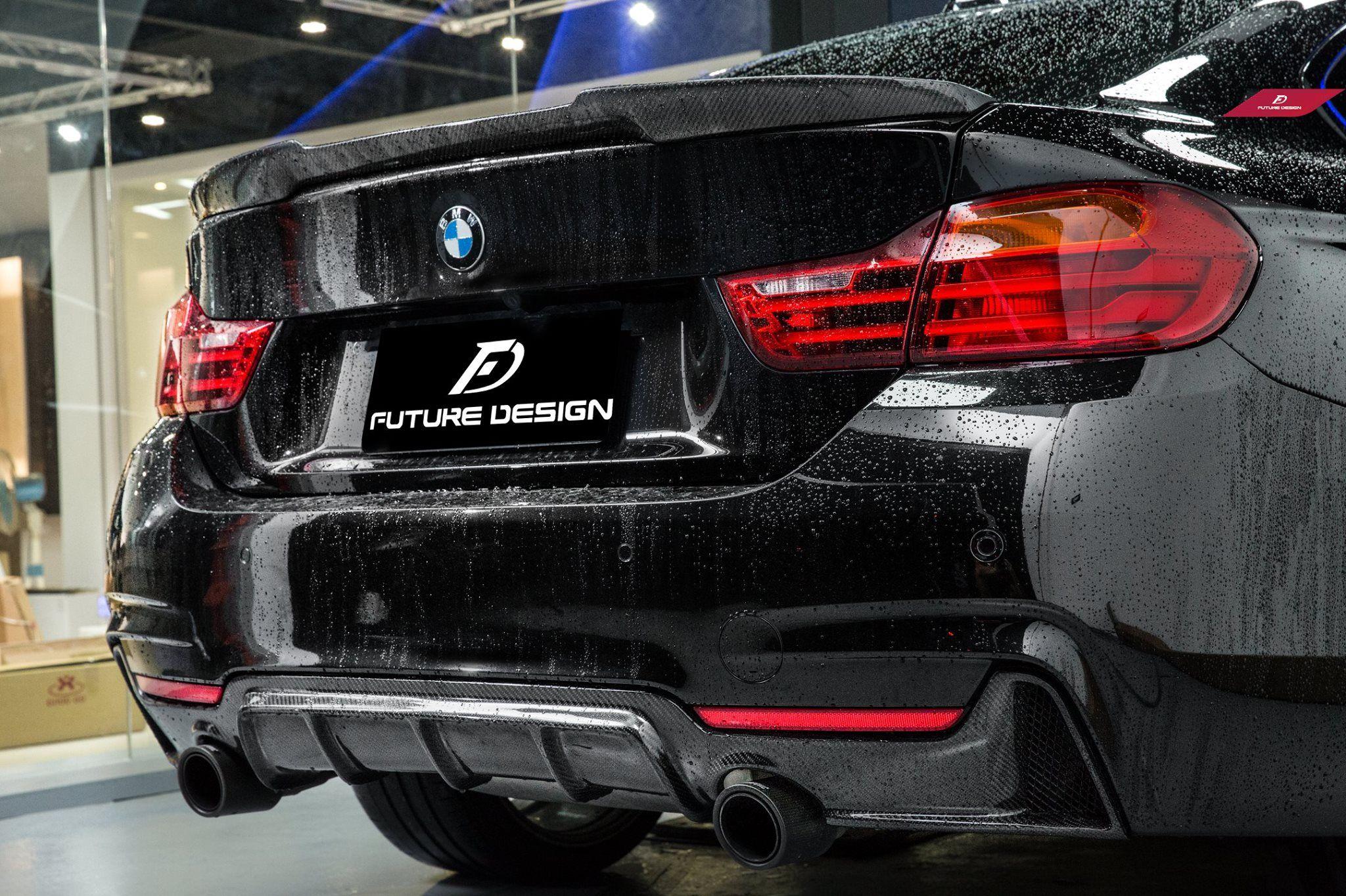 Oe Performance Style Carbon Fiber Diffuser F32 F33 F36 435i 440i