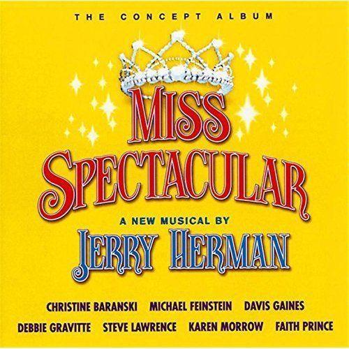 Jerry Herman - Miss Spectacular -Concept Album Original Studio Cast CD 2002 DRG  #MusicalOriginalCast