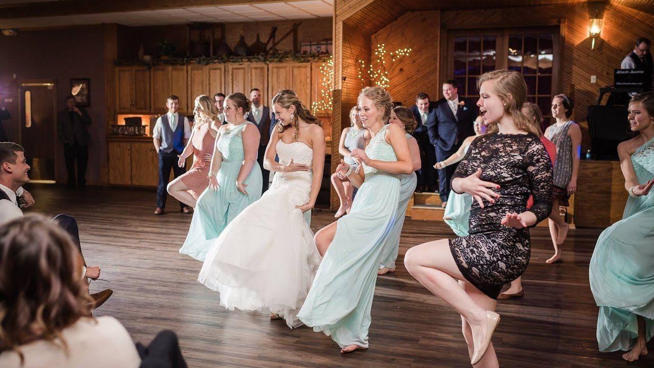 I Choreographed A Surprise Dance For My Husband I Even Got My Dad Bridesmaids And Closet Friends Inv Wedding Dance Surprise Wedding Melissa Molinaro Wedding