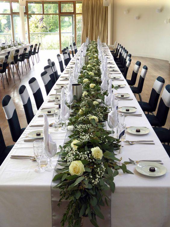 56 Rustic Greenery Wedding Table Decorations Page 46 Of 56 Centros De Mesa Para Boda Centro De Mesa Casamiento Mesas De Boda