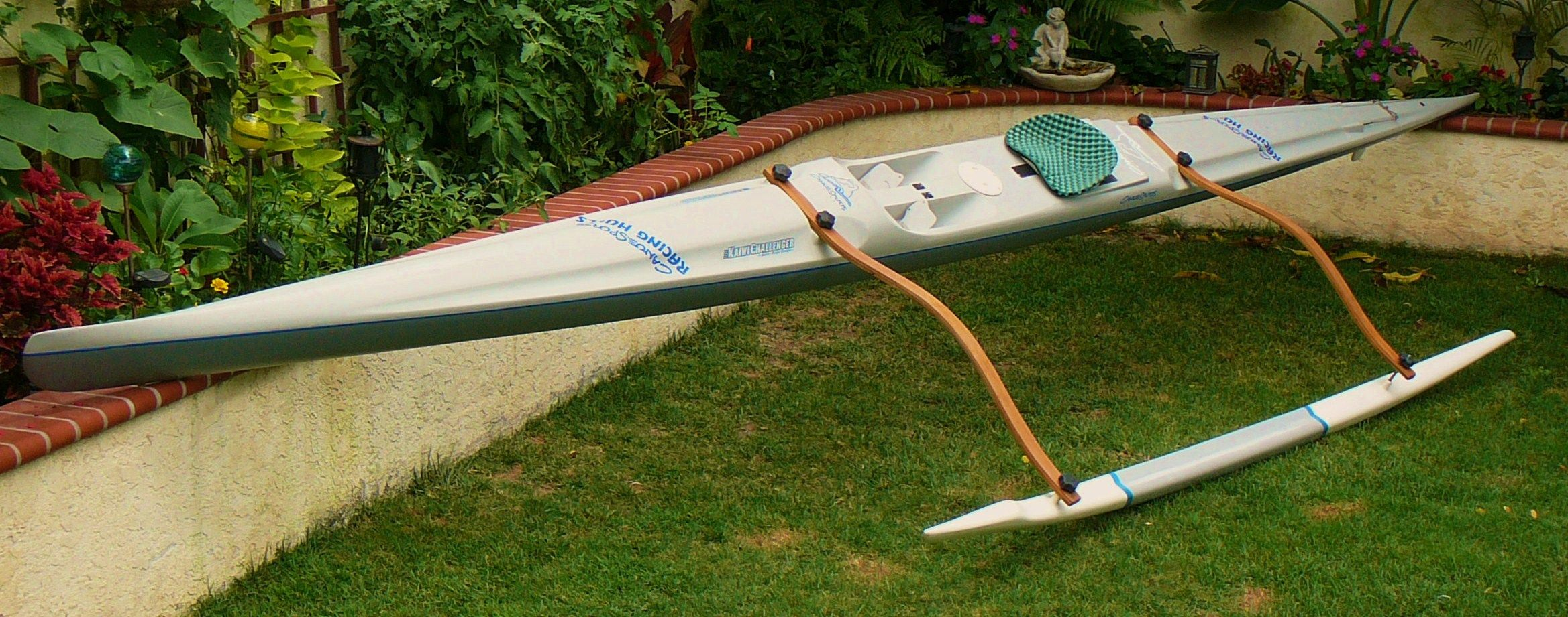 C Lion Outrigger Canoe YakGear Outrigg...