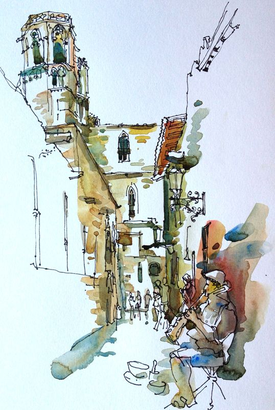 urban sketchers show the world one drawing at a time
