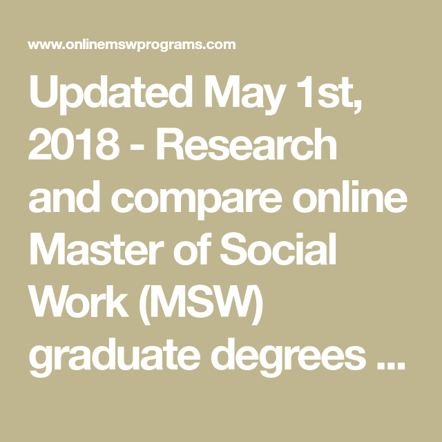 Research And Compare Online Master