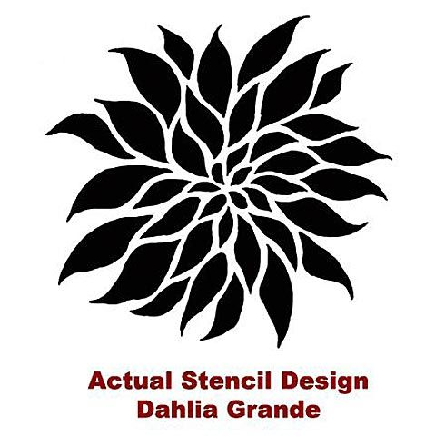 photo relating to Flower Stencils Printable known as Desirable flower stencils for partitions. Reusable very simple stencils