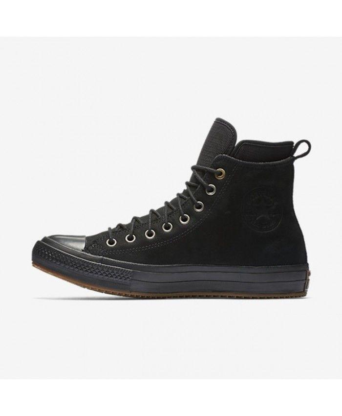 Converse Chuck Taylor All Star Waterproof Nubuck Black 157460C-001 ...