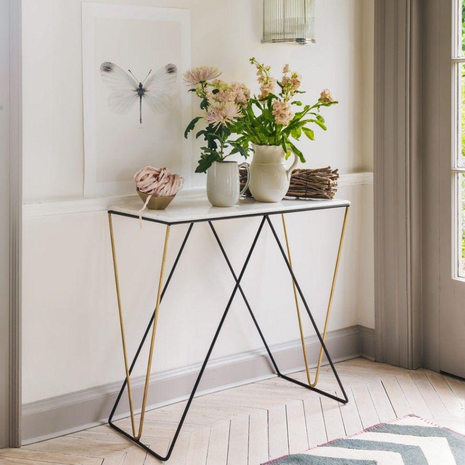 Unique Hallway Console Table