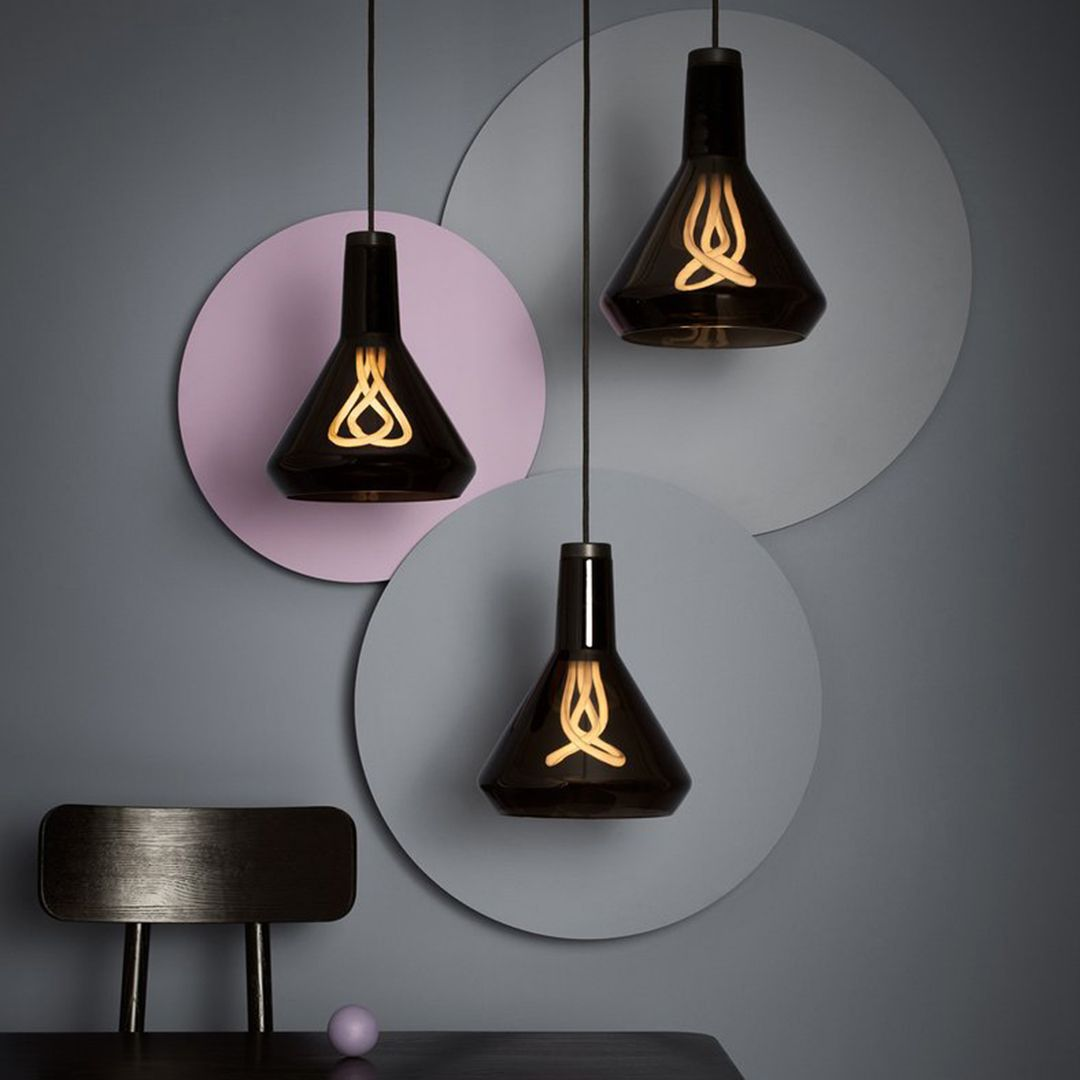 Plumen Drop Top Is A Hand Blown Glass Shade That Sits On