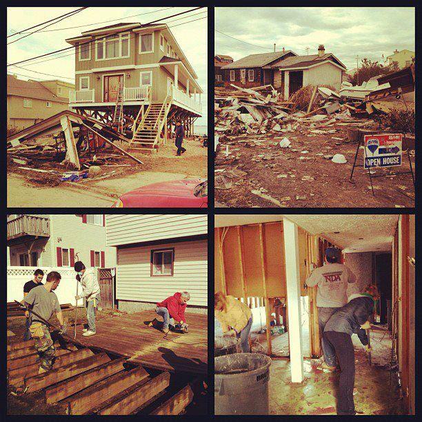 Levittown, Long Island - After Superstorm Sandy