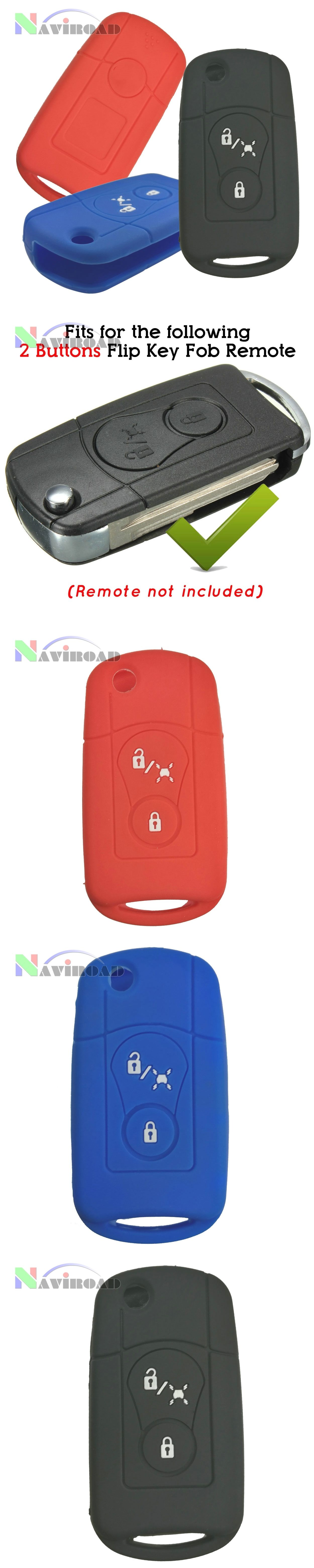 Silicone Rubber Smart Key Cover Genuine Fob Cover for Ssangyong