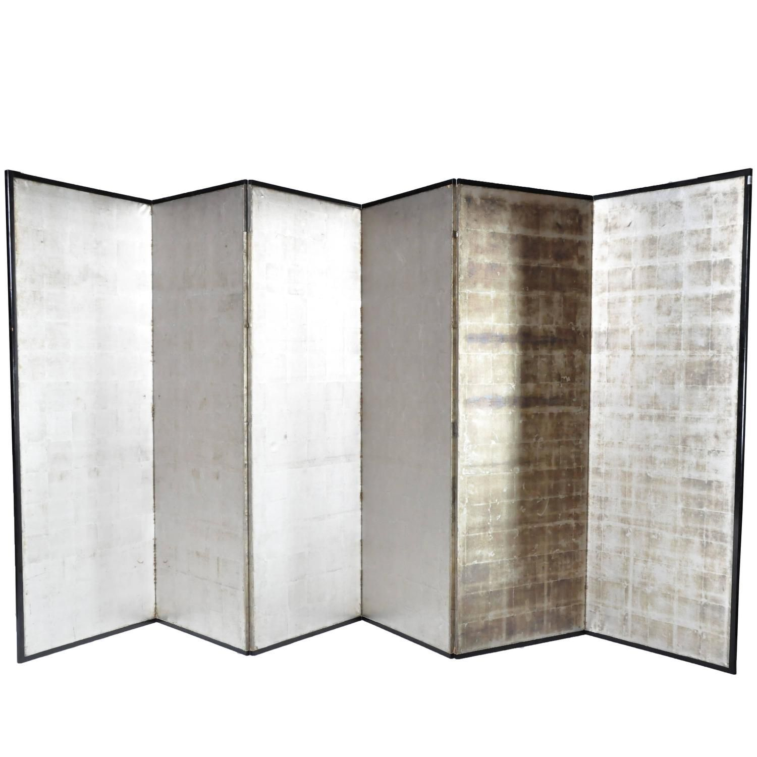 japanese silver screen panels screens divider and japanese