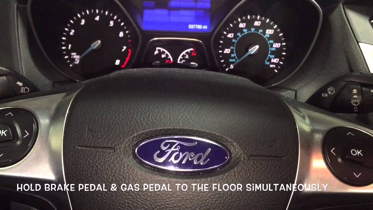 How to reset ford focus oil light oil light ford focus