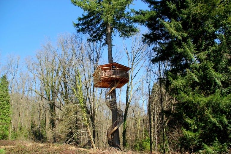 cabañas en los árboles país vasco casas en los arboles Pinterest - casas en arboles