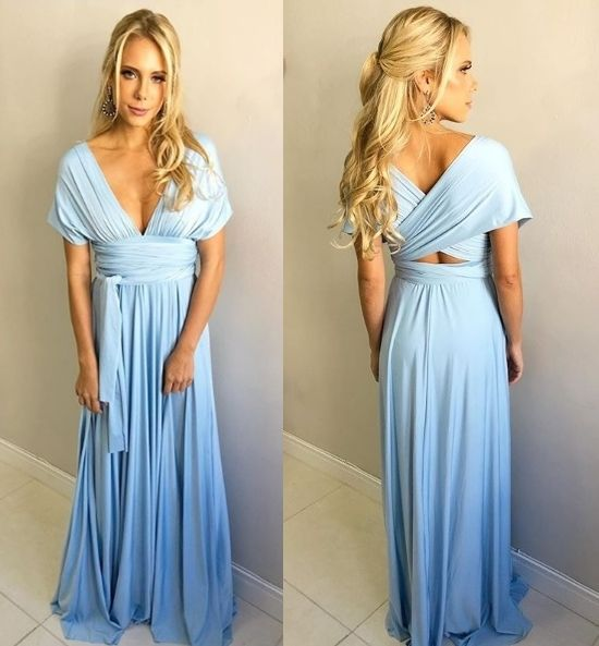 c269534a3 Vestido de festa multiformas (vestido amarração) ! | Vestido de ...
