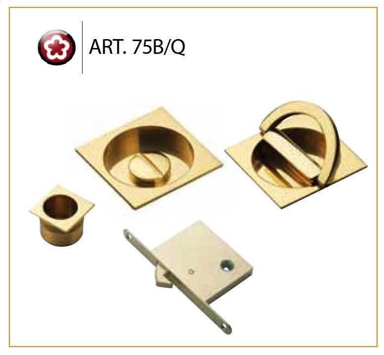 manital art 75b q set of sliding door rose with ring turn