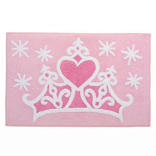 disney princess crown bath rug by jumping beans | disney love