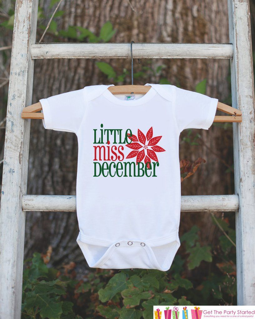 7b72089bc Little Miss December Onepiece Bodysuit - Take Home Outfit For ...