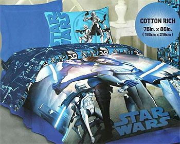 Star Wars Bedding Set The Clone Wars Twin Size Coltens Room