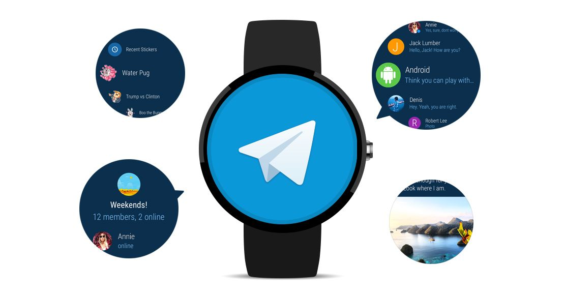 Telegram App Now Available On Android Wear 2.0 Android
