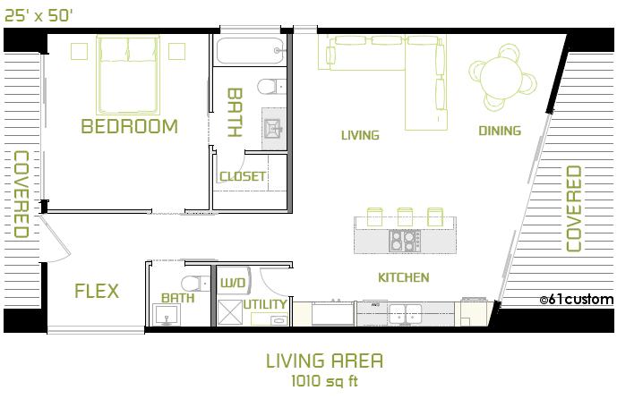 Minimal House Plans the minimalist: small modern house plan | small modern house plans