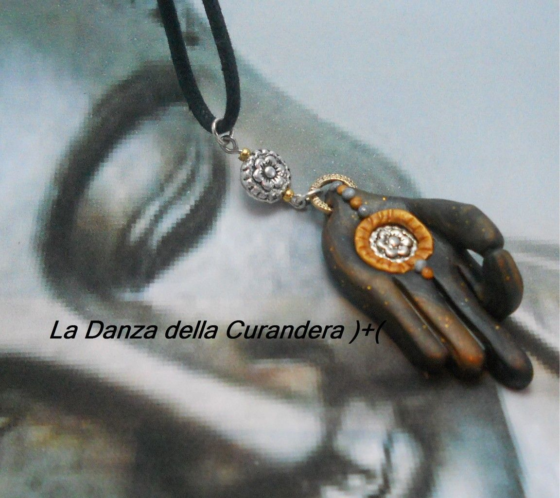 Buddha's Mudra Gold Hand