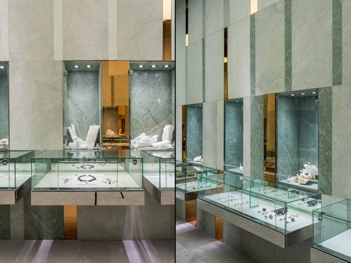 Alchemist jewellery boutique by Rene Gonzalez Architect ...