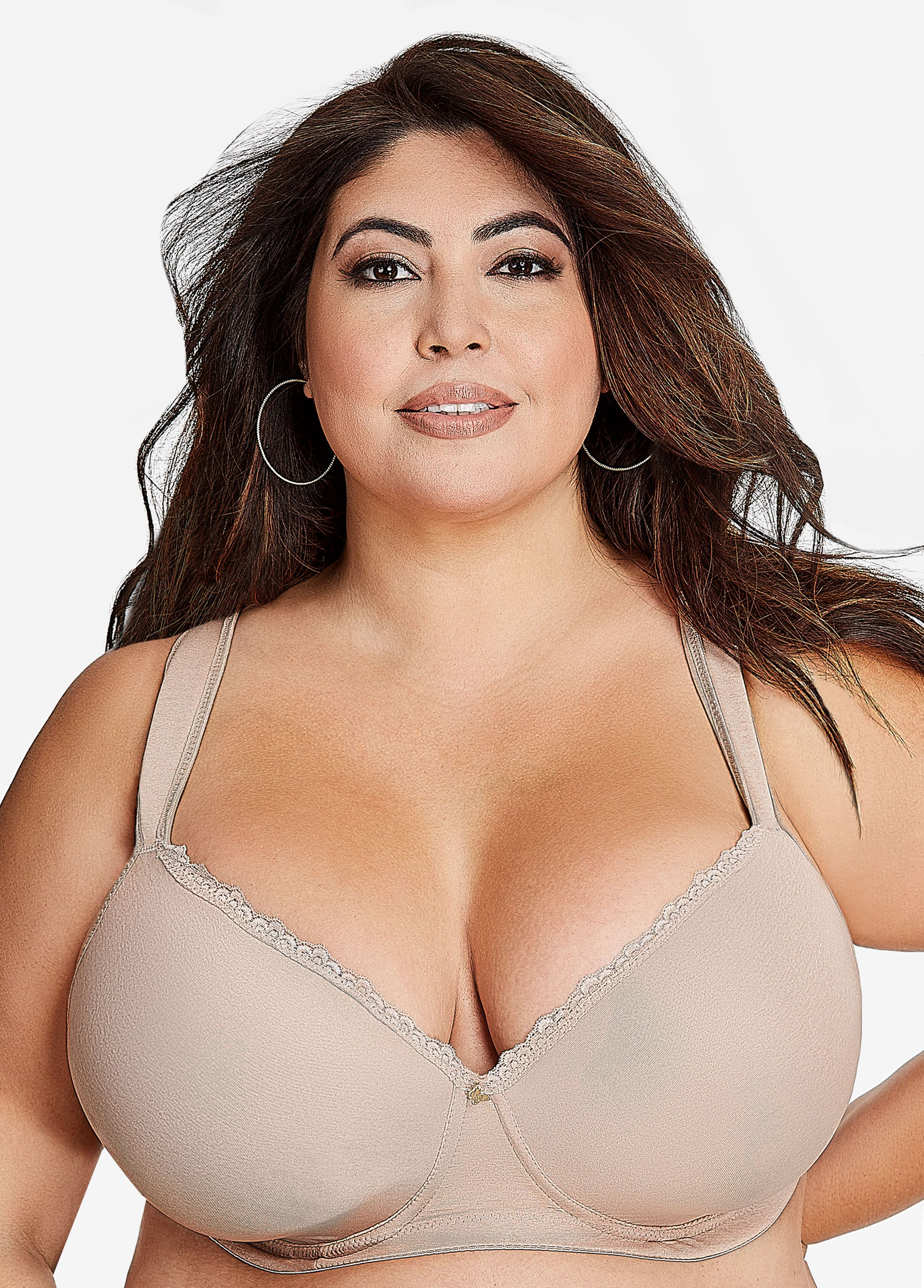 8f38c17ae Full Coverage Butterfly Bra - Ashley Stewart