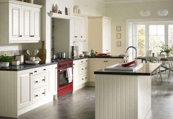 Marvelous Edwardian Kitchen Design