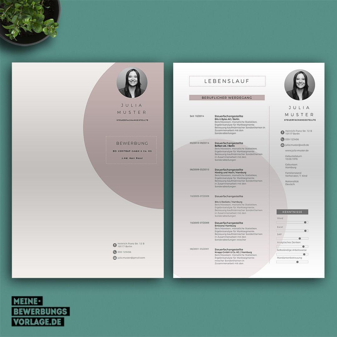 21 Design Fur Lebenslauf Word Lebenslauf Lebenslauf Ideen Bewerbung Schreiben