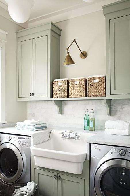 Luxury Modern Laundry Room Decor