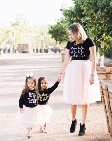 Mommy and me tulle skirts is one of the best outfit ideas for you and your little girl for virtually any special event. Claire skirts are soft and  sc 1 st  Pinterest & Claire Mommy and Me Tulle Skirts (assorted colors) - Set of 2 ...