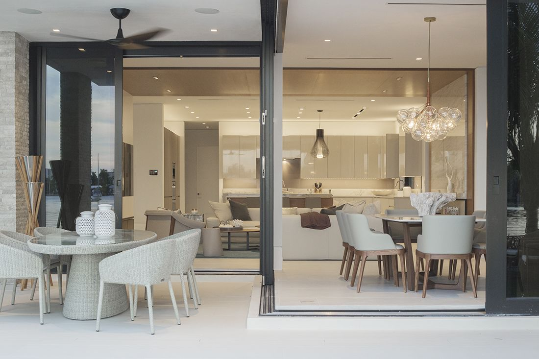 contemporary waterfront elegance residential interior design